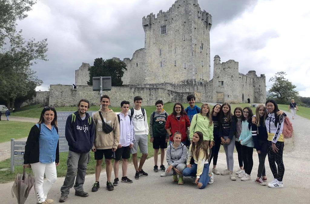 Nuestro grupo de estudiantes pone rumbo a Irlanda